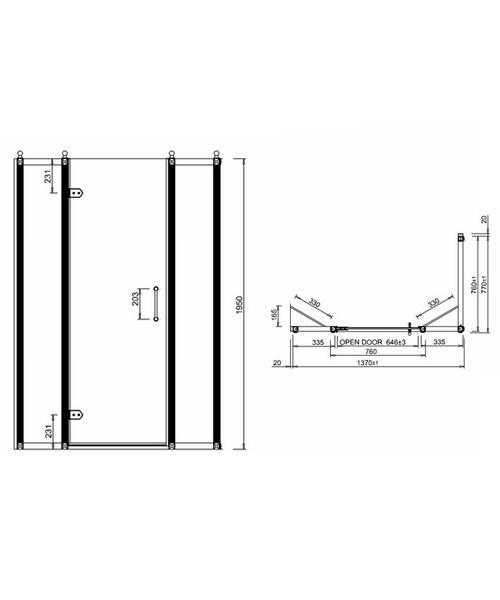 Technical drawing 2240 / BU31