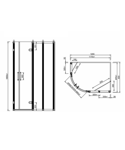Technical drawing 2251 / BU42