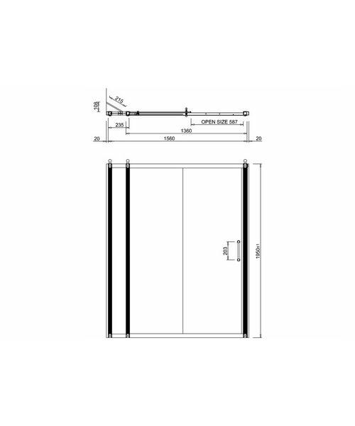 Technical drawing 2257 / BU72