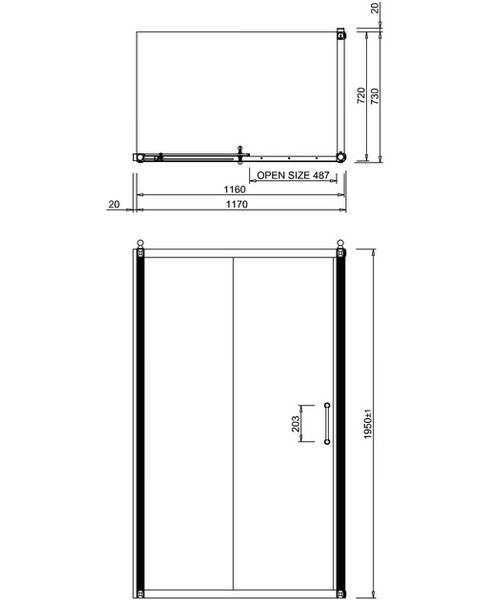 Technical drawing 2264 / BU79