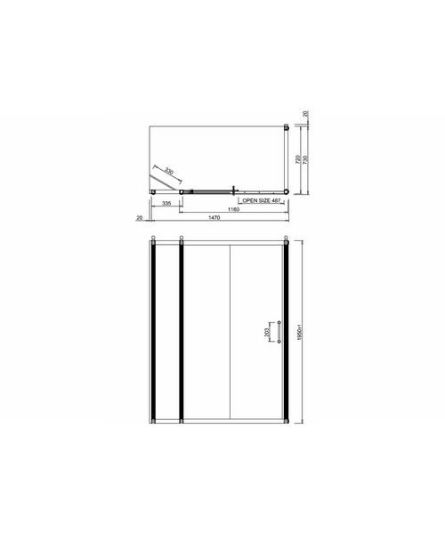Technical drawing 2270 / BU85