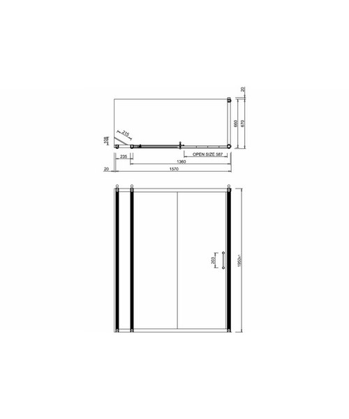 Technical drawing 2272 / BU87