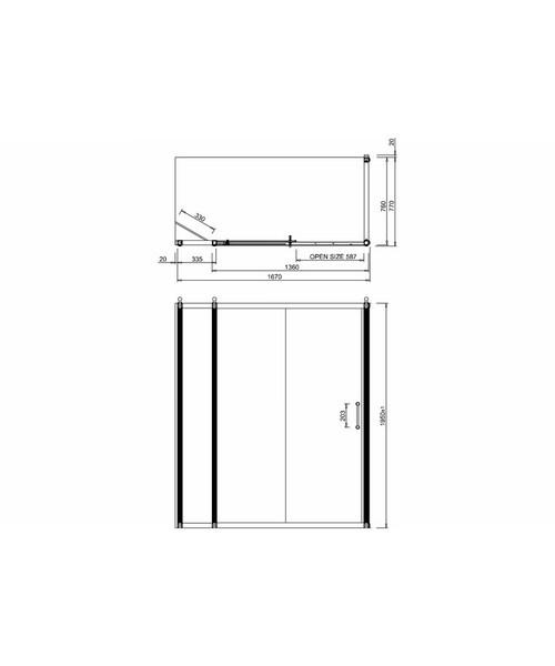 Technical drawing 2275 / BU90