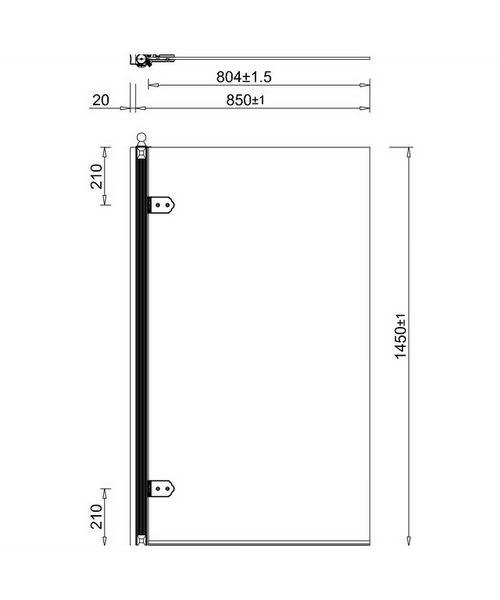 Technical drawing 2276 / BU43