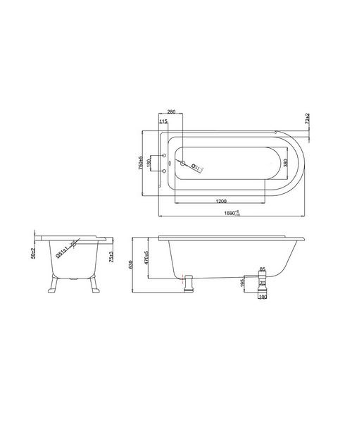 Technical drawing 2281 / E13