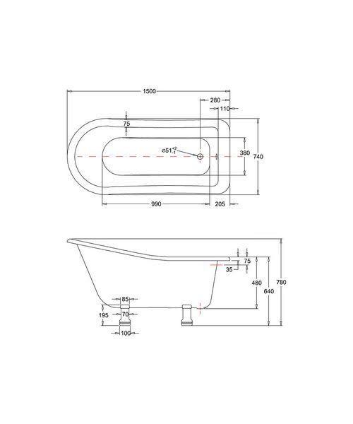 Technical drawing 2284 / E6