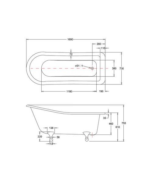 Technical drawing 2288 / E1