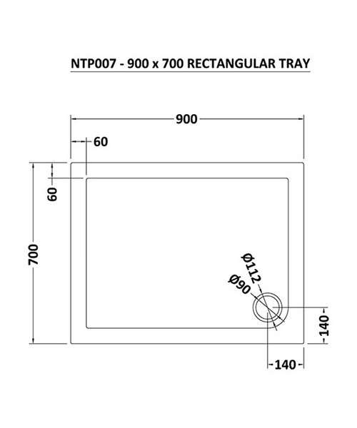 Technical drawing 22907 / NTP007