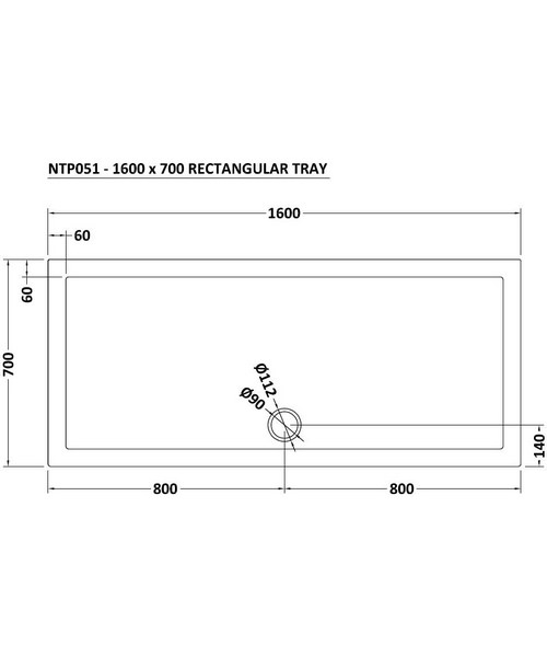 Technical drawing 22910 / NTP051
