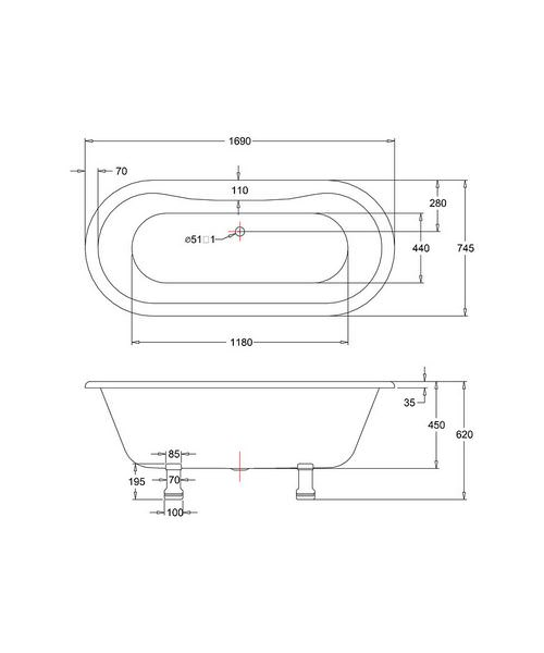 Technical drawing 2293 / E3