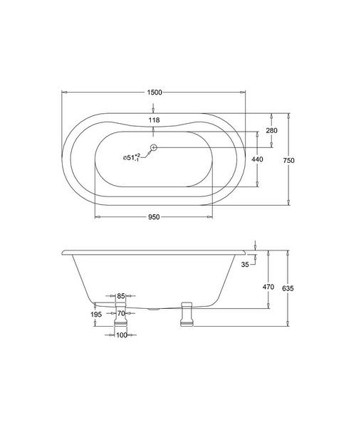 Technical drawing 2296 / E4