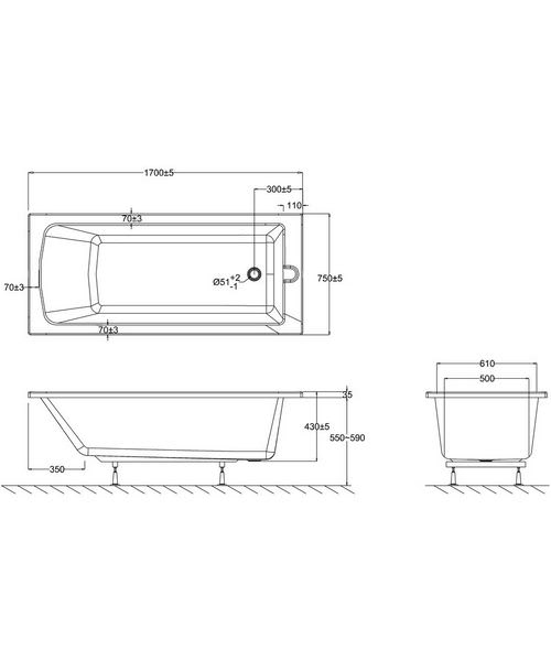 Technical drawing 2300 / E16