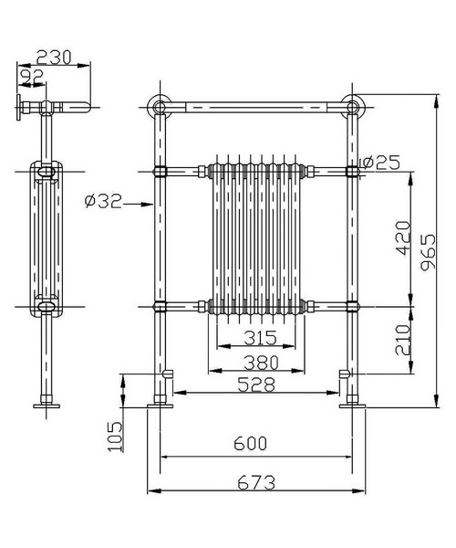 Technical drawing 2354 / BEO-2154