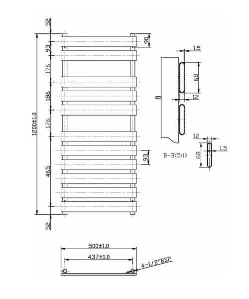 Technical drawing 2355 / HL396