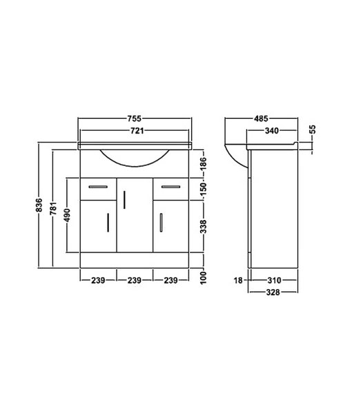 Technical drawing 2380 / BEO-1947