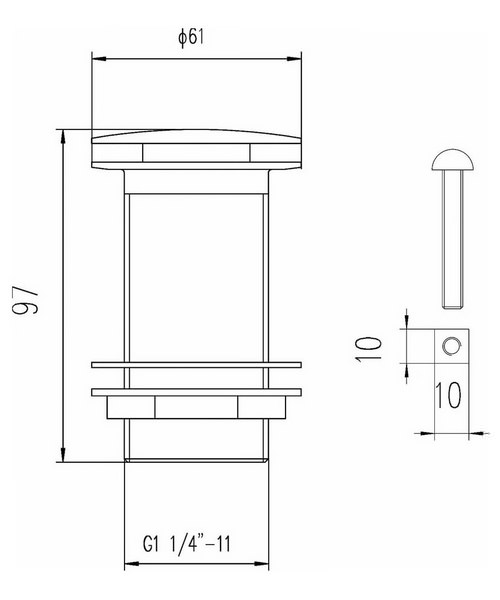 Technical drawing 2383 / EK304