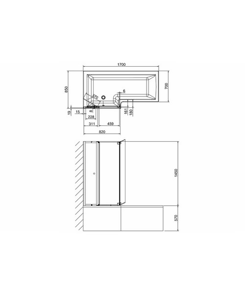 Technical drawing 24086 / BS8L