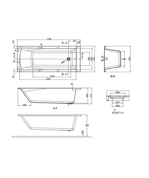 Technical drawing 24101 / R5