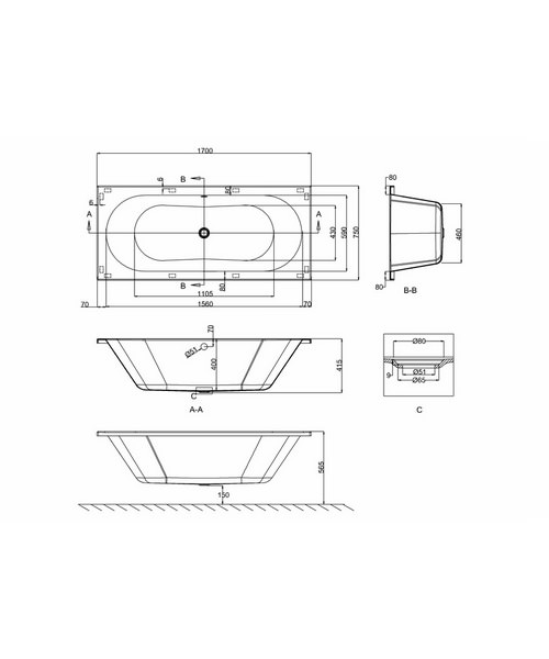 Technical drawing 24107 / R9