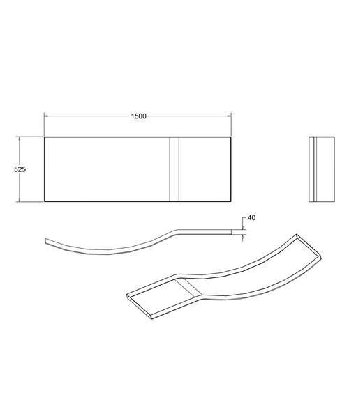 Technical drawing 24118 / R20F