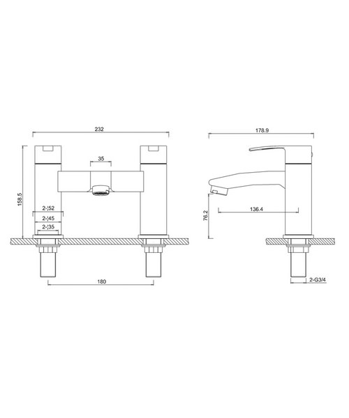 Technical drawing 24132 / CTA15