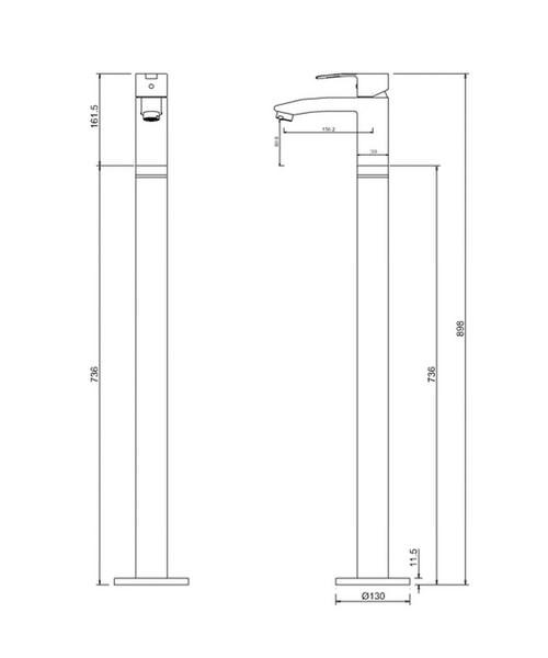 Technical drawing 24134 / CTA14