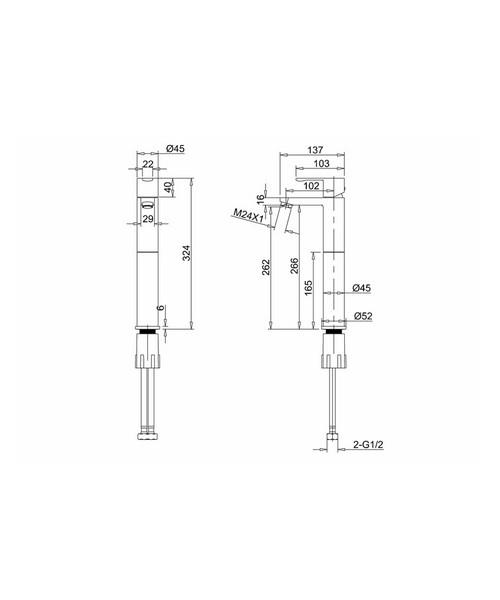 Technical drawing 24139 / CTA3