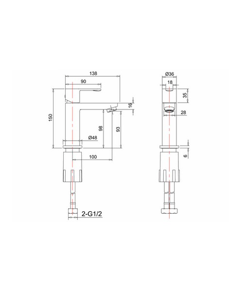 Technical drawing 24147 / CTA8