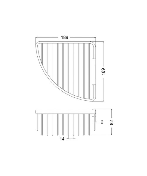 Technical drawing 24153 / A33 CHR