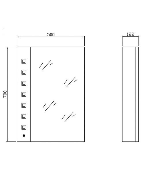 Technical drawing 2420 / LQ038