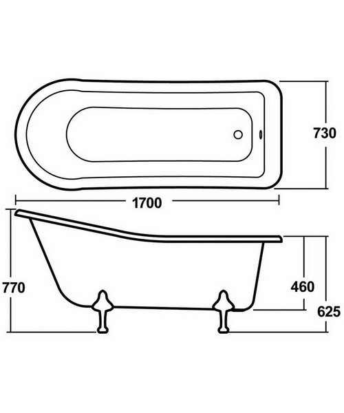Technical drawing 2441 / RL1690T