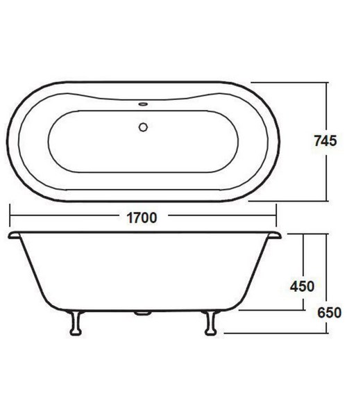 Technical drawing 2443 / RL1705T