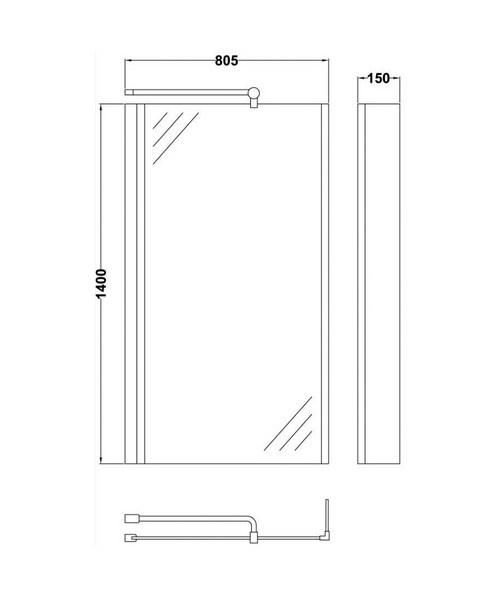 Technical drawing 2448 / NSBS2