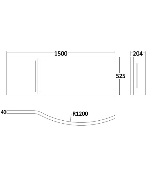 Technical drawing 2472 / NAP003A