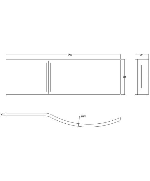 Technical drawing 2473 / NAP001A