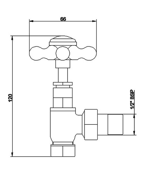 Technical drawing 24860 / HT300