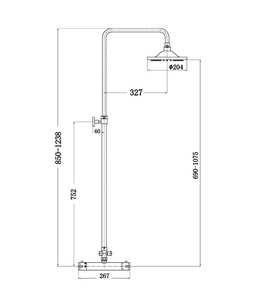 Technical drawing 2498 / JTY375