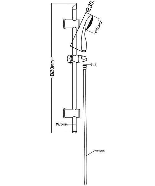 Technical drawing 2511 / JTY004