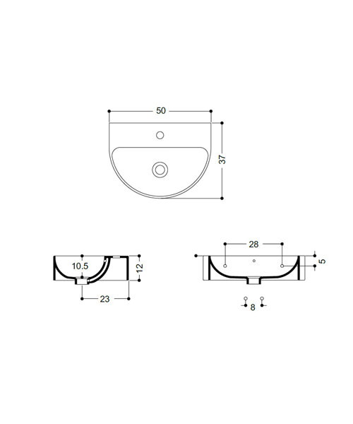 Technical drawing 25344 / WM1180SCW