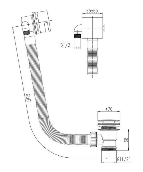 Technical drawing 2534 / E317