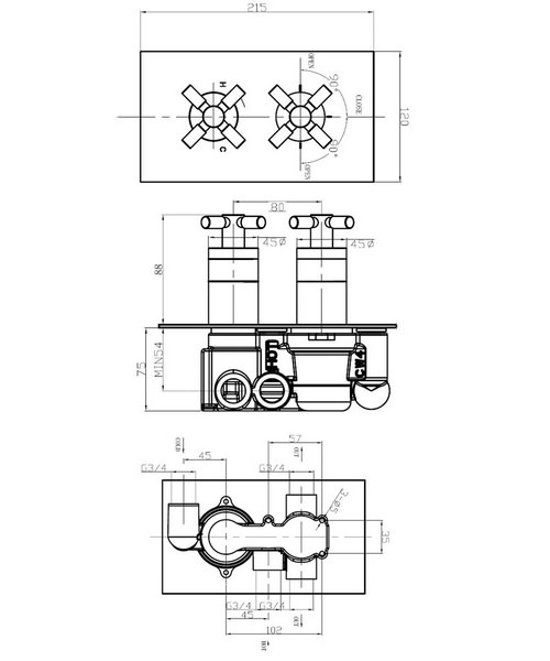 Technical drawing 25363 / TO1501RC