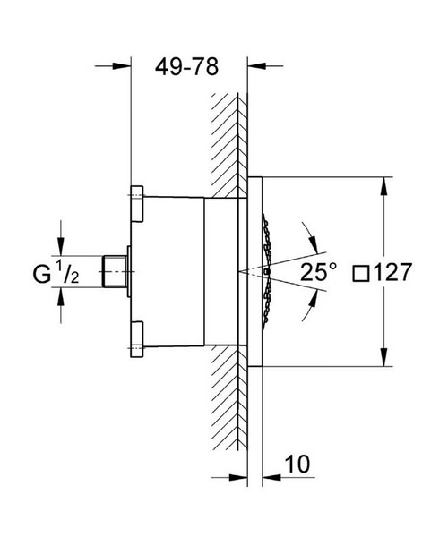 Technical drawing 25397 / 27251000