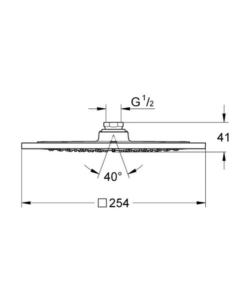 Technical drawing 25400 / 27271000