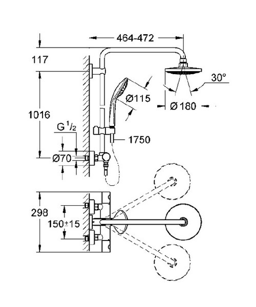 Technical drawing 25409 / 27296001