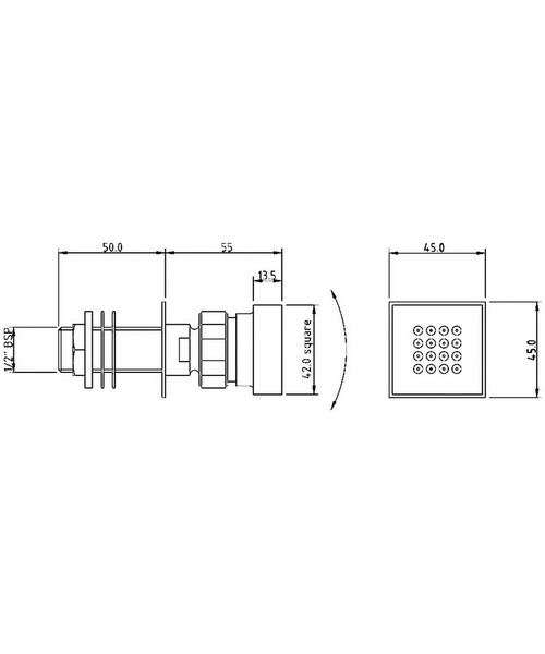 Technical drawing 25828 / A354