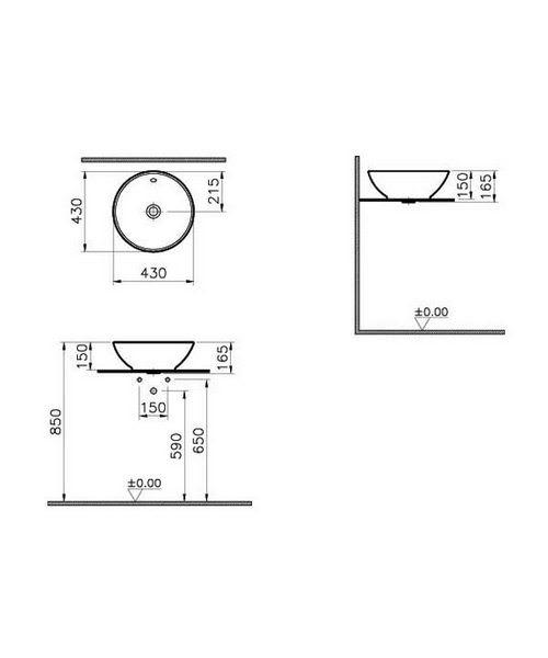 Technical drawing 26512 / 4324B003-0012