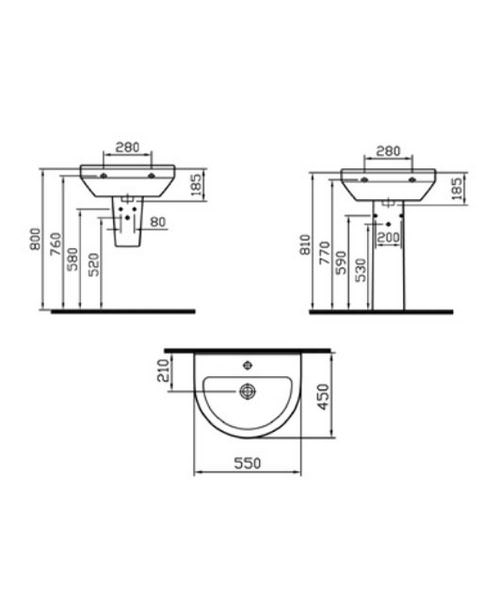 Technical drawing 26538 / 5301L003-0999