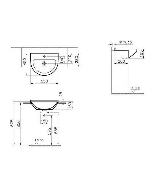 Technical drawing 26542 / 5307B003-0001