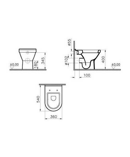 Technical drawing 26551 / 5323L003-0075