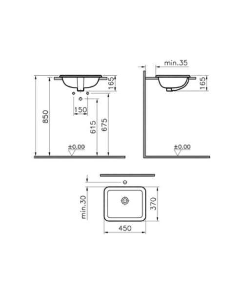 Technical drawing 26585 / 5473B003-0642